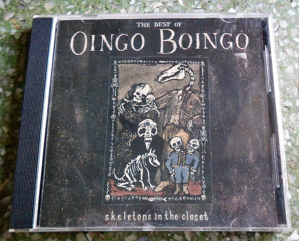 Cd Oingo Boingo The Best Of Skeletons In The Closet