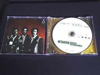 cd o´jays  back starbbers      (produto original)