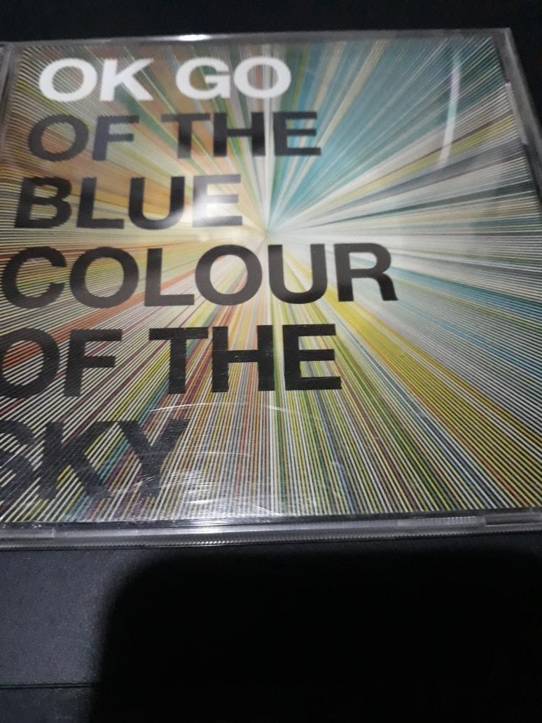 Cd Ok Go Of The Blue Colour Of The Sky