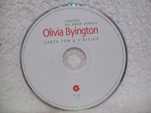 cd olivia byington- canção do amor demais