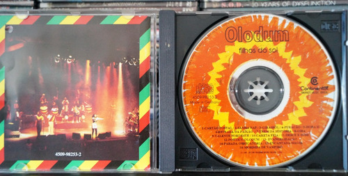cd olodum - filhos do sol
