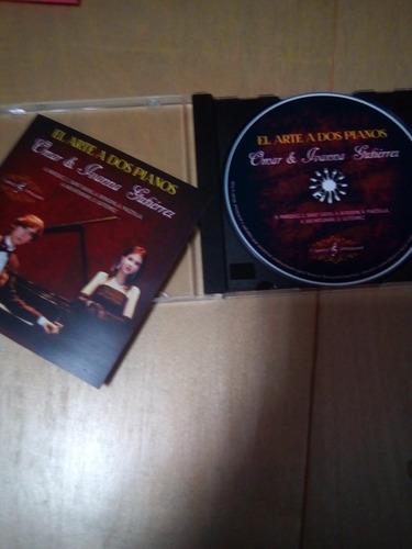 cd omar e ivanna ''el arte a dos pianos''  grabado en italia