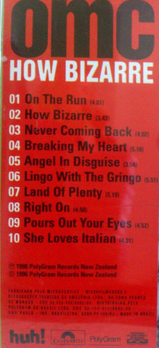 cd omc - how bizarre  ( frete  r$ 8,00 )