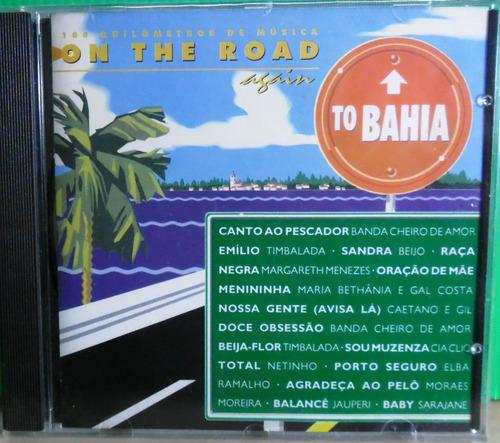 cd on the road to bahia original pop pagode mpb samba axe