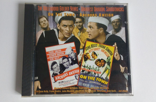 cd on town anchors aweigh kelly frank sinatra cdjess pelicul