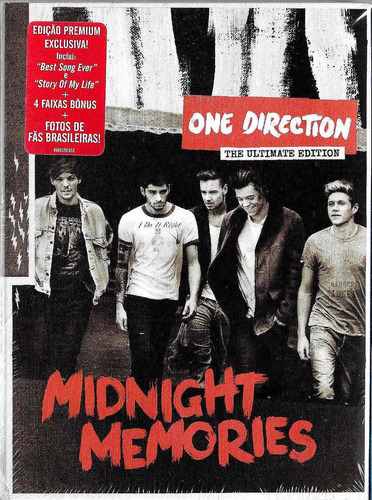 cd one direction midnight memories the ultimate edition novo