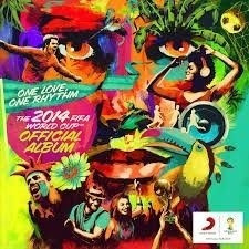 cd one love, one rhythm - the 2014 fifa world cup