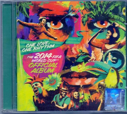 cd one love, one rhythm - the 2014 fifa world cup - novo***
