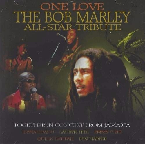 cd one love the bob marley all- star tribute jamaica-