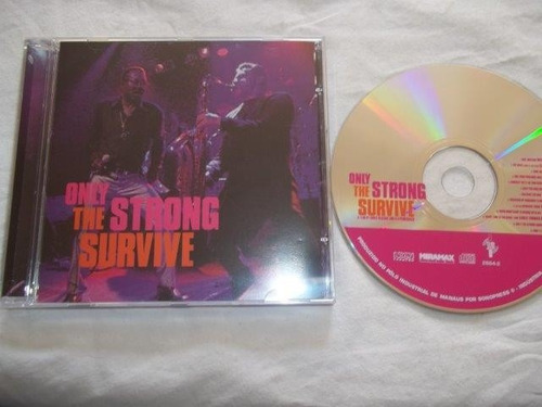 cd - ony strong / the survive - jazz