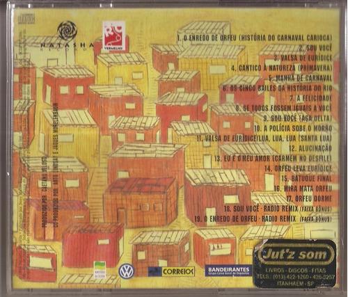 cd orfeu - trilha sonora caetano veloso - 1999 - natasha cd