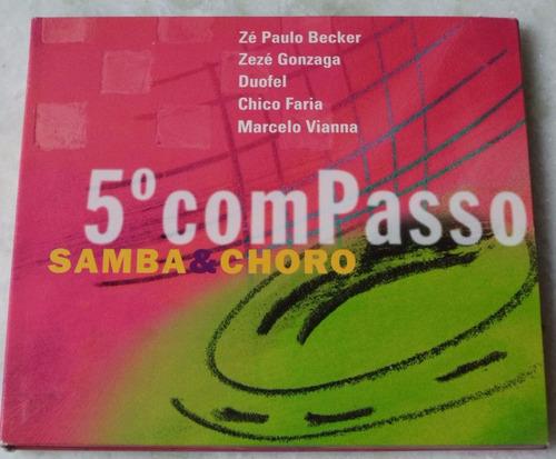 cd original 5º com passo samba e choro