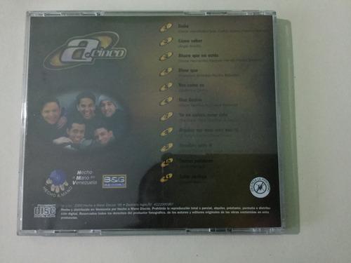 cd original a.5 - a punto cinco usado