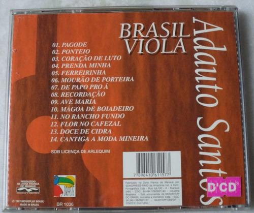 cd original adauto santos brasil  viola novo
