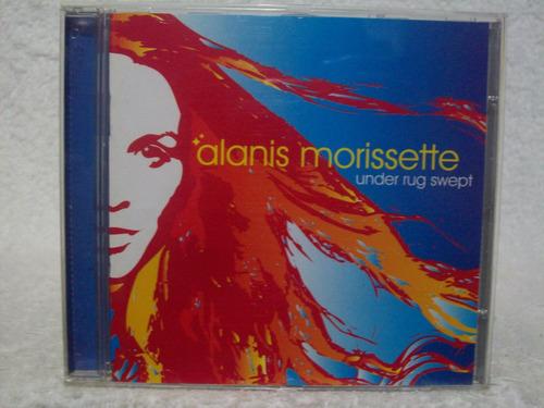 cd original alanis morissette- under rug swept