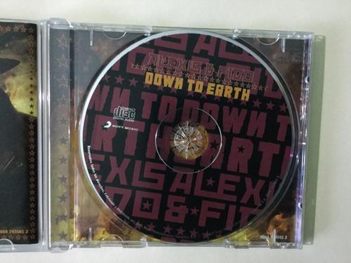 cd original alexis & fido - down to earth