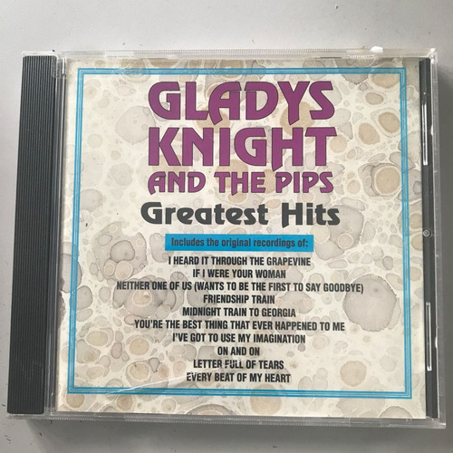 cd original americano soul r&b rnb gladys knight an the pips