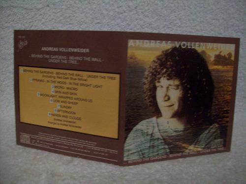 cd original andreas vollenweider- behind the gardens
