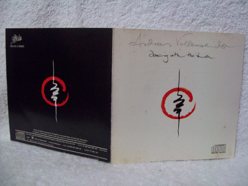 cd original andreas vollenweider- dancing with the lion