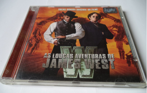 cd original as loucas ave. de james west trilha  sonora