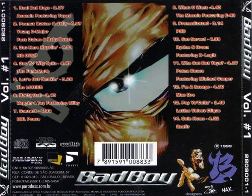 cd original - bad boy  - rap - the album vol.1 & vol.2