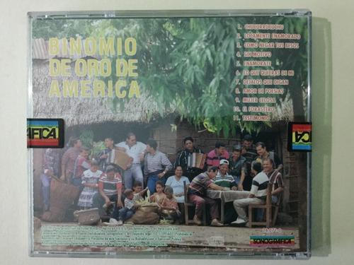 cd original binomio de oro - lo nuestro
