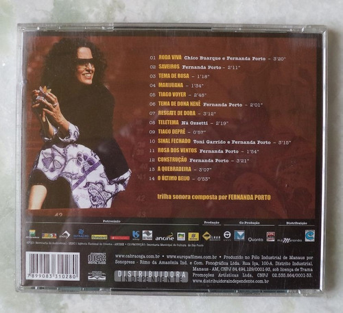 cd original cabra-cega trilha  sonora