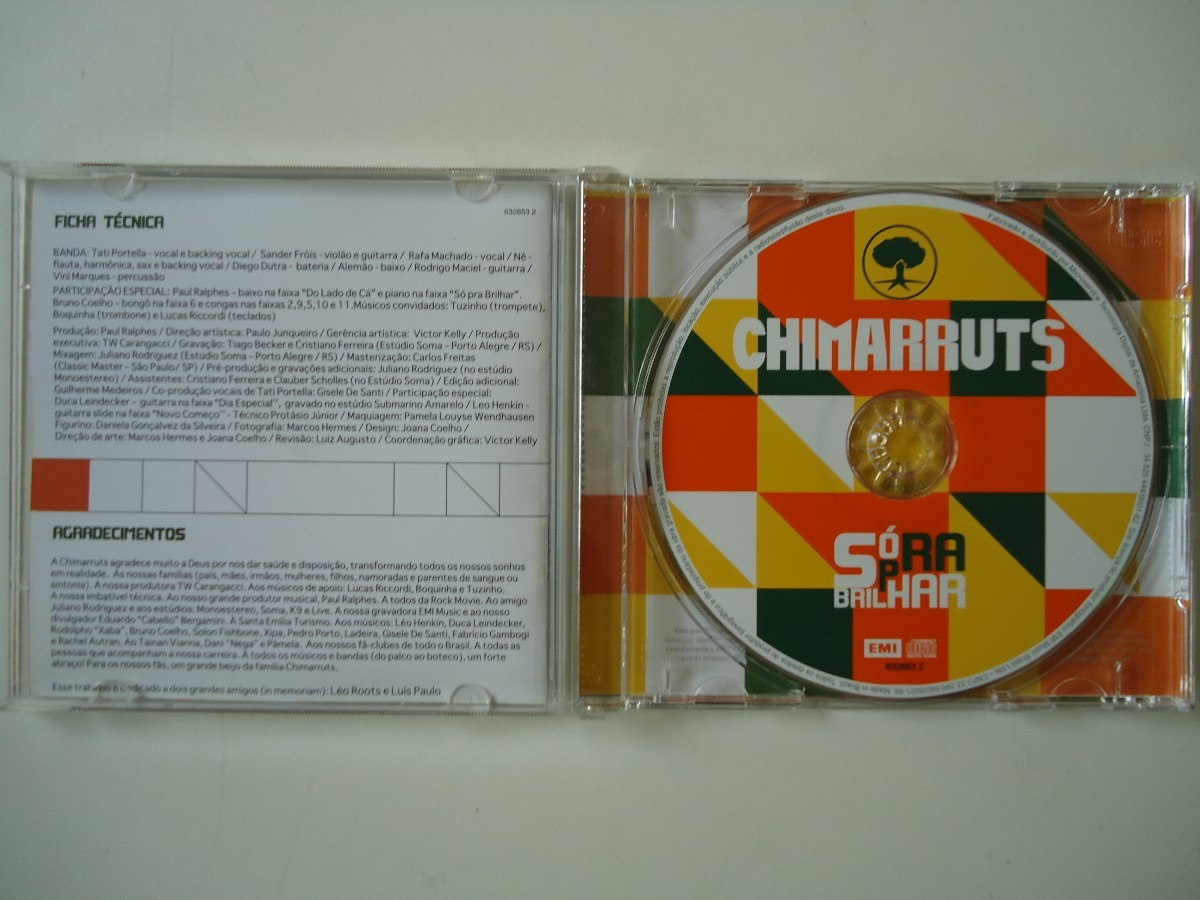 cd do chimarruts so pra brilhar