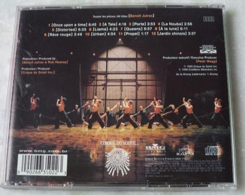 cd original cirque du soleil la nouba