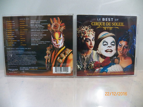 cd original cirque du soleil le best of