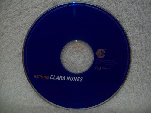 cd original clara nunes- retratos