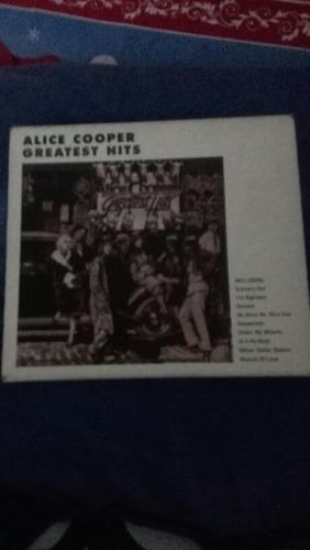 cd original de alice cooper  grandes hits