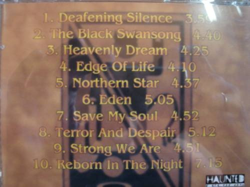 cd original deafening silence edge of life