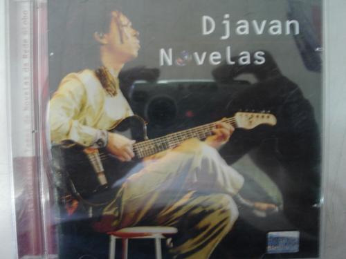 cd original  djavan novelas