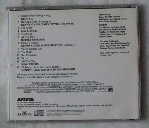 cd original dying young trilha  sonora