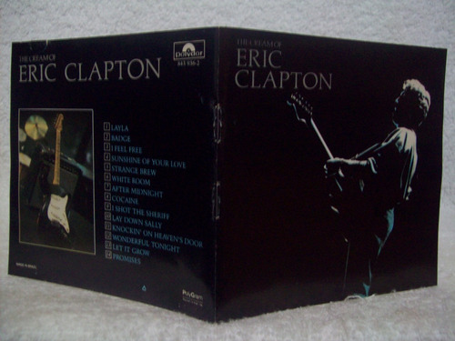 cd original eric clapton- the cream of eric clapton