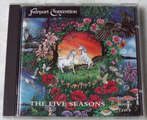 cd original fairport convention the five seasons novo