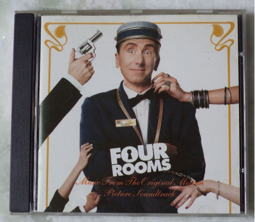 cd original four rooms trilha  sonora