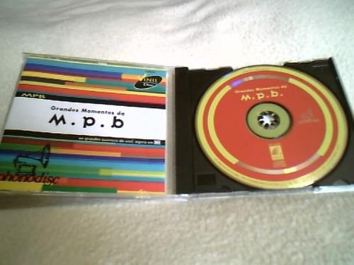 cd original ( grandes momentos da m.p.b. )  1994  raridade