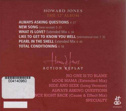 cd original howard jones the 12  album action replay remaste