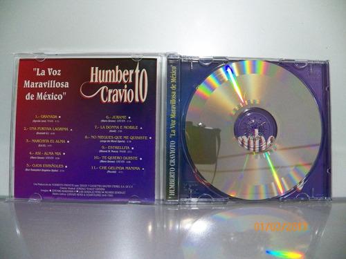 cd original humberto cravioto la voz maravillosa de mexico