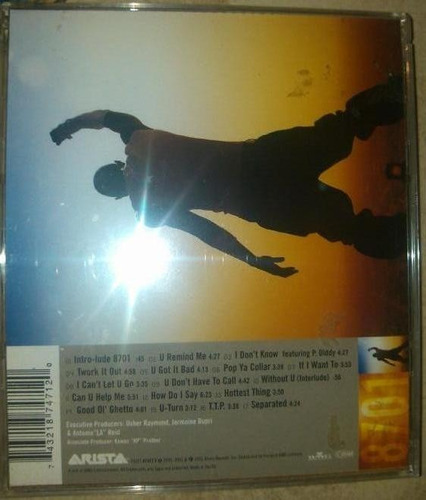 cd original importado nuevo usher 8701 bss 10.900