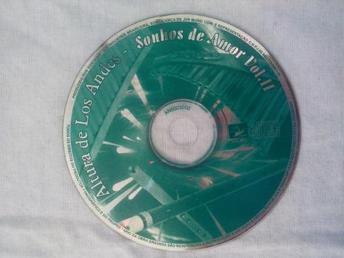 cd original - instrumental - de las alturas de los andes