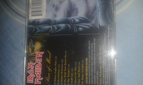 cd original iron maiden piece of mind