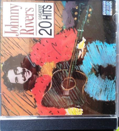 cd original johnny rivers - 20 greatest hits