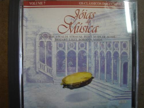 cd original jóias da musica vol. 7wagner vivaldi strauss