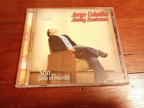 cd original jorge celedon jimmy zambrano  son para el mundo