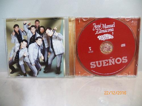 cd original  jose manuel zamacona y los yonics sueños