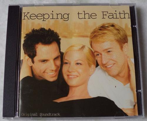 cd original keeping the faith trilha  sonora
