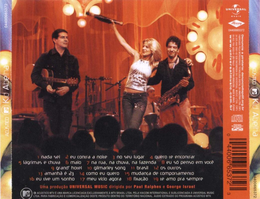BAIXAR DVD LUAU NANDO REIS MTV